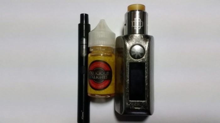 1.delicious delights DOUBLE CHEESECAKE iCare140 MINIKIN2 DRUGA RDA ニクロムデュアル0.26Ω 50W